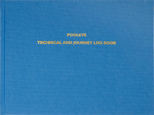 NLB040 POOLEYS TECHNICAL & JOURNEY LOG BOOK FOR SALE